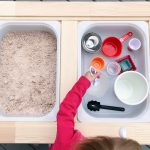 How to Make Home Made Sand for Sensory Play