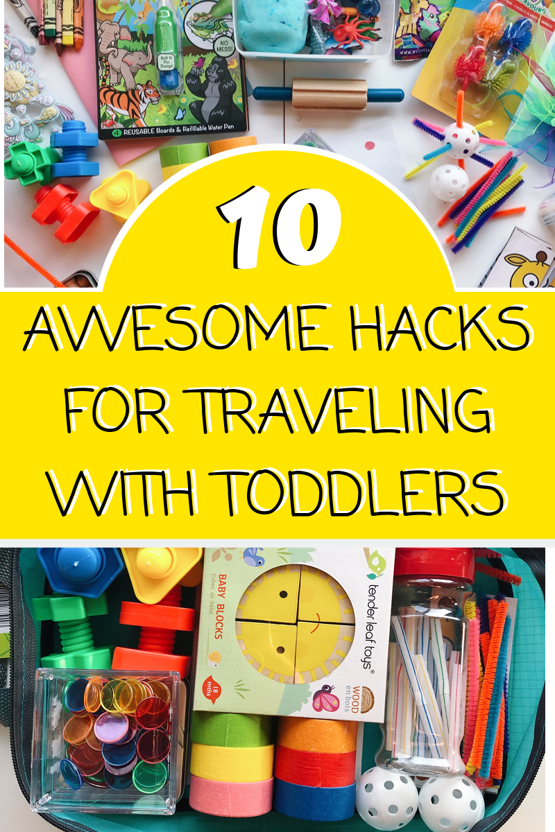 10 Awesome Activity Hacks for Traveling With Toddlers