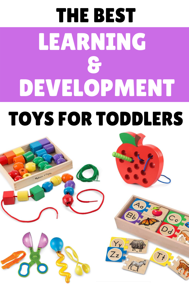 The Ultimate List of Toddler Toys That Promote Learning & Development