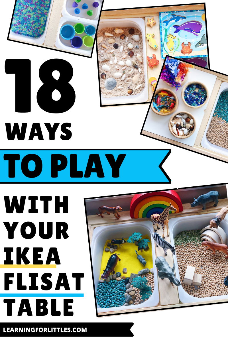 18 Ways to Play With Your Ikea Flisat Table