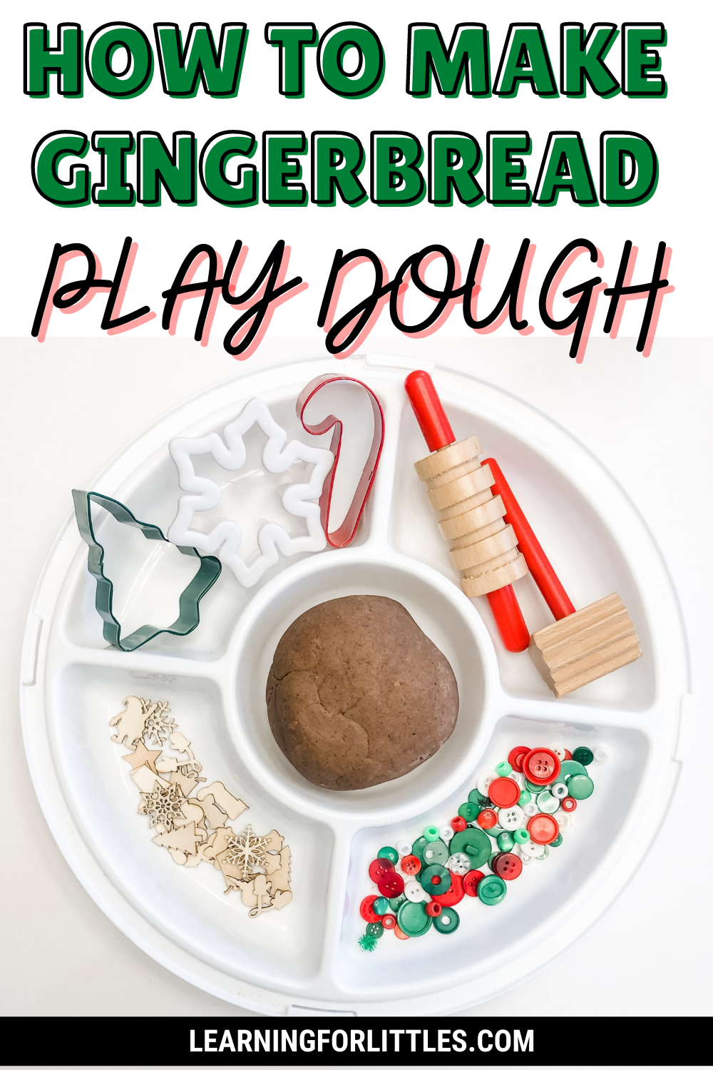 How to Make Gingerbread Play Dough