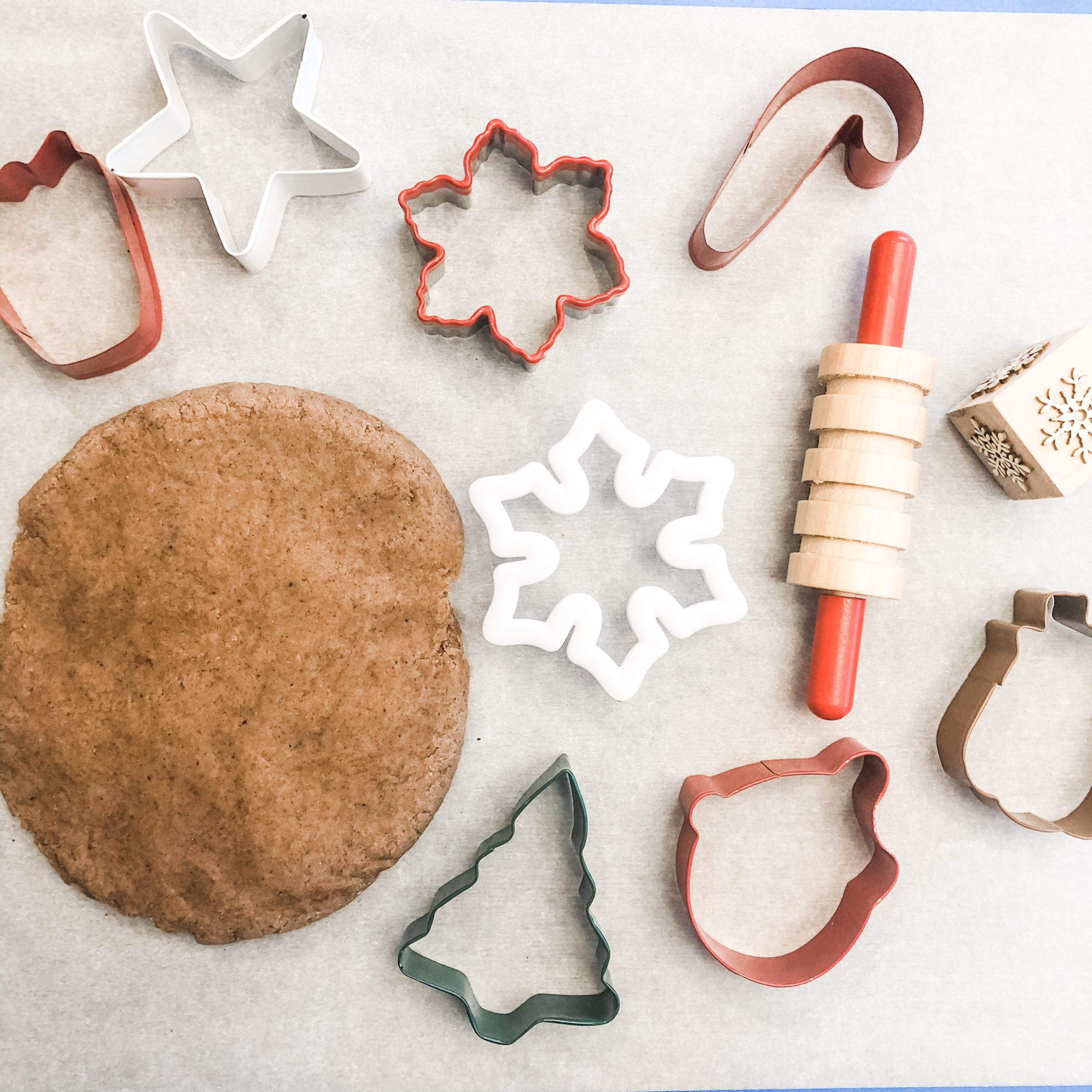 The Easiest Gingerbread Play Dough Recipe Ever!