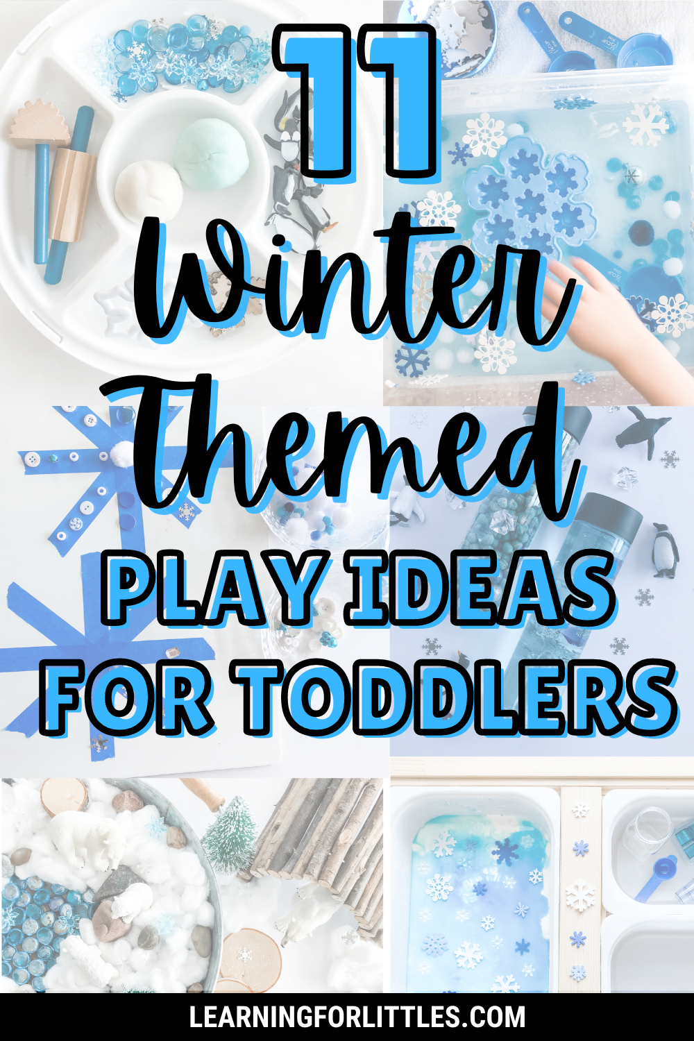11 Winter Themed Play Ideas for Toddlers