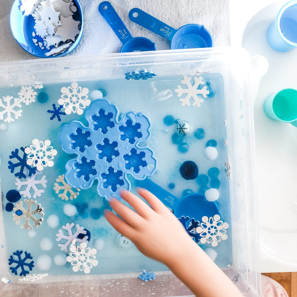 Winter Themed Play Ideas for Toddlers