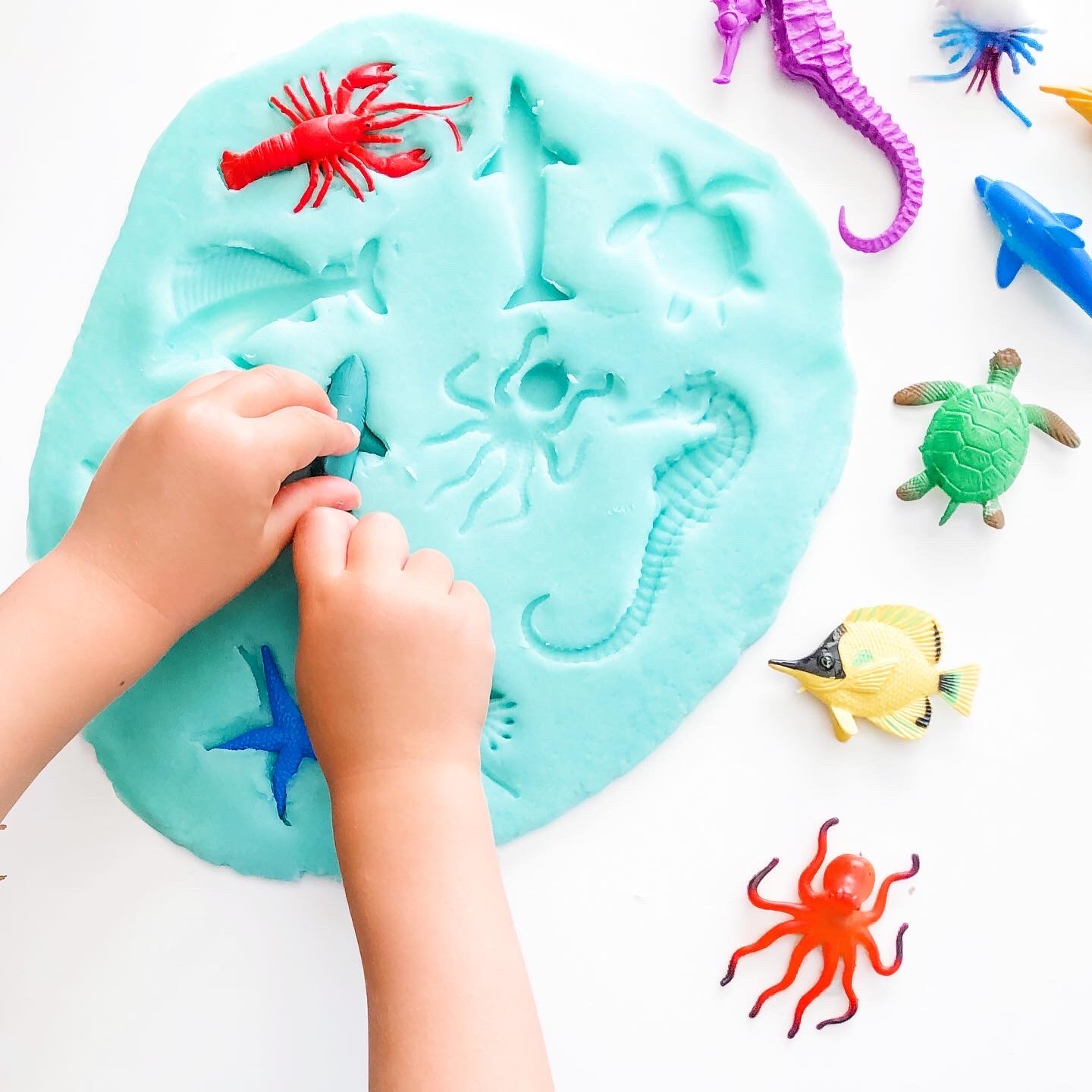 12 Ocean Themed Play Ideas That Your Toddler will Love