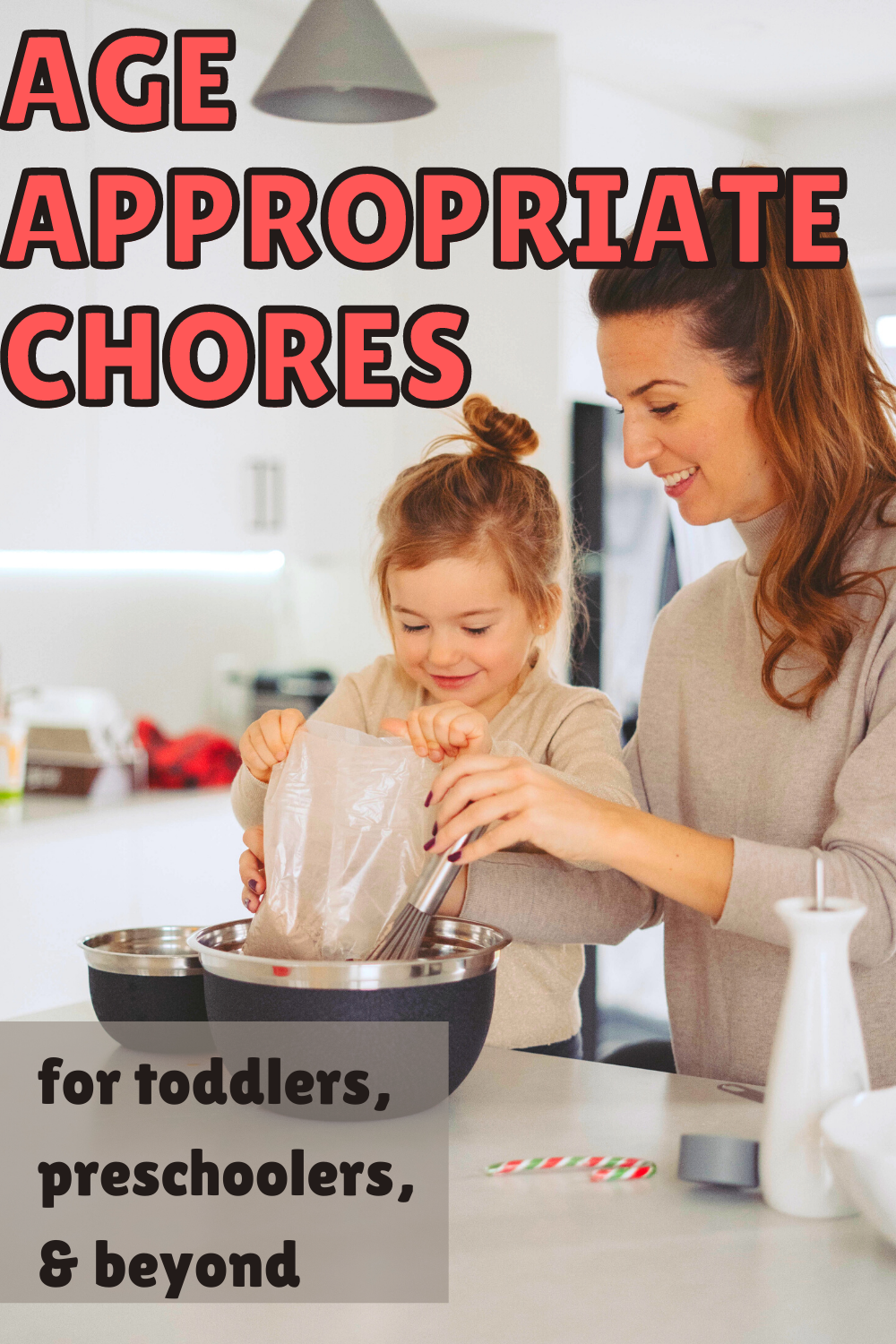 Age Appropriate Chores for Toddlers, Preschools & Beyond